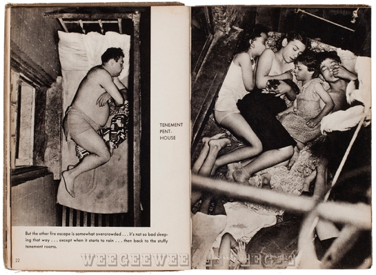 Weegee's book Naked City